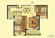 岳州帝苑2室2厅2卫97平方米户型图