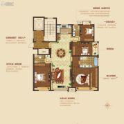 荣域花果园二期・天鹅堡4室2厅3卫0平方米户型图