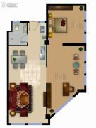 正德君城2室1厅1卫0平方米户型图