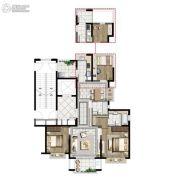 中国铁建青秀澜湾3室2厅2卫120平方米户型图