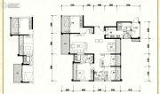 信和御龙山4室2厅3卫169平方米户型图