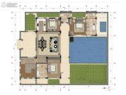 中交绿城高福小镇3室2厅1卫132平方米户型图