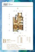温泉新都孔雀城英国宫3室2厅2卫104--106平方米户型图