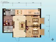 财智公馆3室1厅1卫0平方米户型图