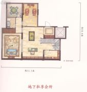 中梁温岭印象4室3厅3卫135平方米户型图