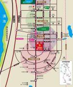 涌鑫哈佛中心交通图