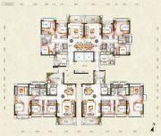 锦绣御景国际3室2厅2卫0平方米户型图