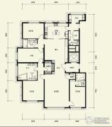 广渠金茂府4室3厅4卫304平方米户型图