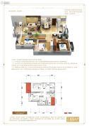 首开龙湖・春江彼岸3室2厅1卫0平方米户型图