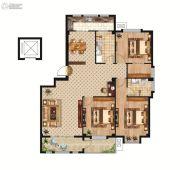 中正公馆3室2厅2卫142--145平方米户型图