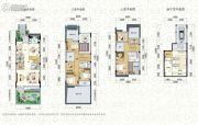 水墨清华别墅6室3厅3卫225平方米户型图