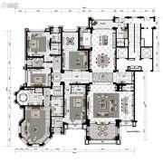 沈阳星河湾5室3厅6卫0平方米户型图
