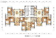 雅居乐白鹭湖4室2厅3卫0平方米户型图