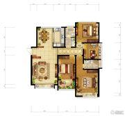 洛阳升龙城4室2厅2卫164平方米户型图