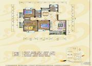 银海富都3室0厅2卫128平方米户型图