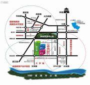 紫薇・睿纳时代交通图