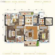 碧桂园・翡翠山(佛山・三水)4室2厅2卫142平方米户型图