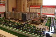 中央广场沙盘图