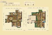 华润橡树湾3室3厅2卫202平方米户型图