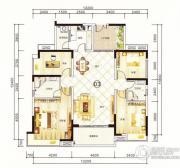 紫园4室2厅2卫154平方米户型图