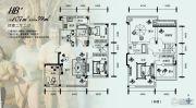 中国铁建国际花园4室2厅2卫107平方米户型图
