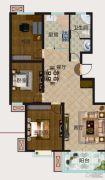 凯航・起点3室2厅1卫111平方米户型图