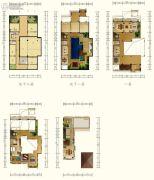 香水湾1号2室2厅2卫252平方米户型图