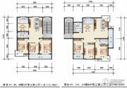 中远现代城3室2厅2卫112--145平方米户型图
