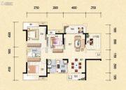 藏珑华府4室2厅2卫119平方米户型图