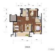 保利玲珑公馆3室2厅1卫0平方米户型图