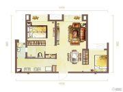 �~山御景2室2厅2卫93--98平方米户型图