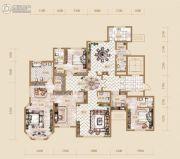 海宁湾4室2厅5卫249平方米户型图