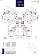 奥园文化旅游城 韶关印象岭南4室2厅2卫128平方米户型图