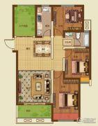 诚城・三英里3室2厅1卫112平方米户型图