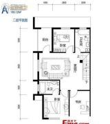 鸥洲2室2厅1卫190--191平方米户型图