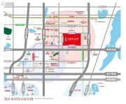 金辉优步水岸交通图