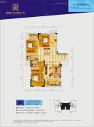 新南天古汉国际广场3室2厅2卫142平方米户型图