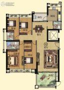 壹品湾4室2厅3卫184平方米户型图