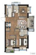 新里波洛克公馆3室2厅2卫0平方米户型图