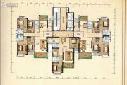 兴业花园4室2厅3卫158平方米户型图