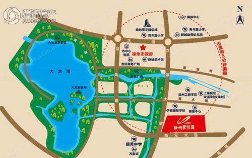 徐州市新城区汉源大道与新元大道交汇处   徐州碧桂园(点击了