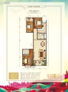 中泽纯境3室2厅2卫142平方米户型图