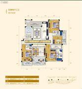 翠湖壹号4室2厅3卫217平方米户型图