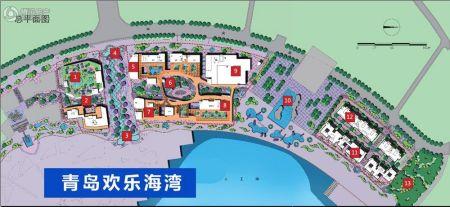 青岛五十八中手绘地图