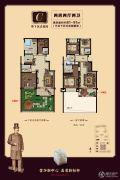 巨龙紫金玉澜2室2厅2卫81--91平方米户型图