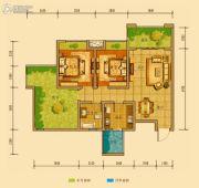 金鸿城三期归谷2室2厅1卫73平方米户型图