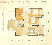 金城大厦2室2厅2卫60--130平方米户型图