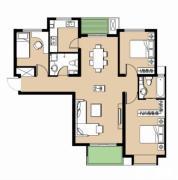 安联青年城3室2厅2卫0平方米户型图
