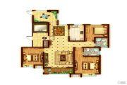 景诗雅苑3室2厅2卫143平方米户型图