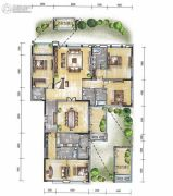 经典天成云墅4室2厅5卫0平方米户型图